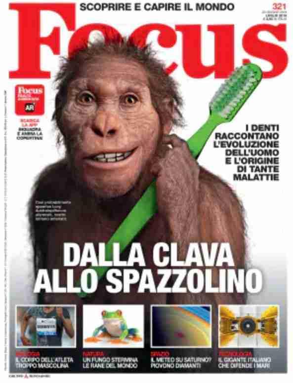 Focus copertina